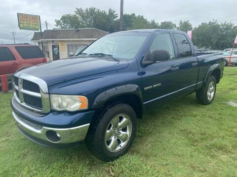 2005 Dodge Ram Pickup 1500 for sale at Cash Car Outlet in Mckinney TX