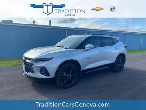 2019 Chevrolet Blazer for sale at Tradition Chevrolet Buick in Geneva NY