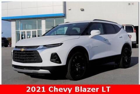 2021 Chevrolet Blazer for sale at WHITE MOTORS INC in Roanoke Rapids NC