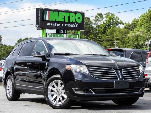2017 Lincoln MKT Town Car for sale at Metro Auto Credit in Smyrna GA