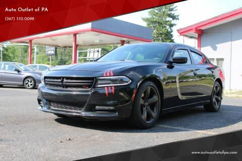 2015 Dodge Charger for sale at Deals N Wheels 306 in Burlington NJ