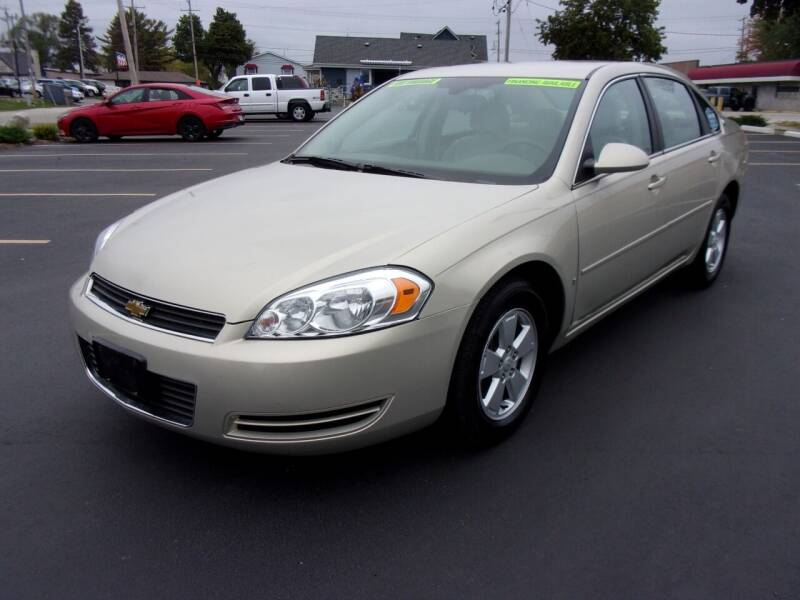 2008 Chevrolet Impala for sale at Ideal Auto Sales, Inc. in Waukesha WI