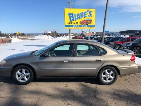 2004 Ford Taurus for sale at Blakes Auto Sales in Rice Lake WI