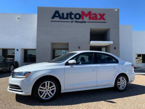 2018 Volkswagen Jetta for sale at AutoMax of Memphis - V Brothers in Memphis TN