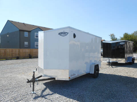 2021 Impact Quake 6x12 for sale at Jerry Moody Auto Mart - Trailers in Jeffersontown KY