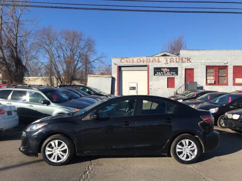 2013 Mazda MAZDA3 for sale at Dan's Auto Sales and Repair LLC in East Hartford CT