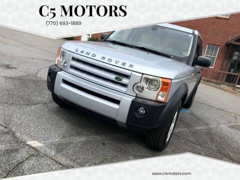 2006 Land Rover LR3 for sale at C5 Motors in Marietta GA