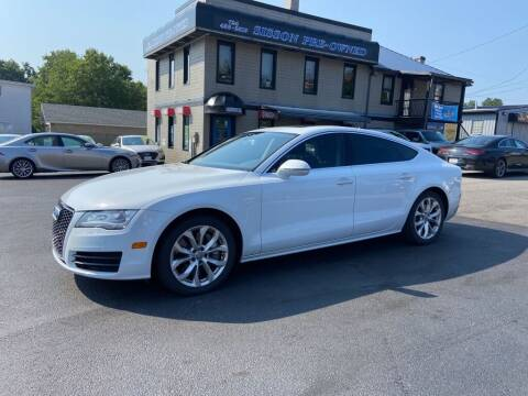 2012 Audi A7 for sale at Sisson Pre-Owned in Uniontown PA