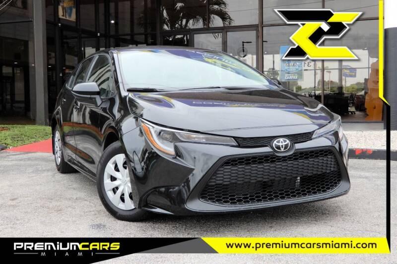 2020 Toyota Corolla for sale at Premium Cars of Miami in Miami FL