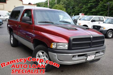 1998 Dodge Ram Pickup 1500 for sale at Ramsey Corp. in West Milford NJ