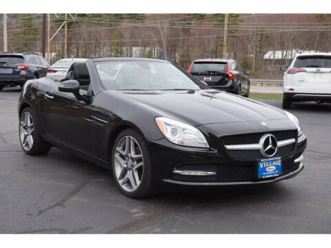 2013 Mercedes-Benz SLK for sale at VILLAGE MOTORS in South Berwick ME