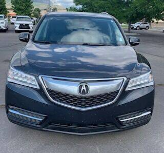 2015 Acura MDX for sale at Utah Credit Approval Auto Sales in Murray UT