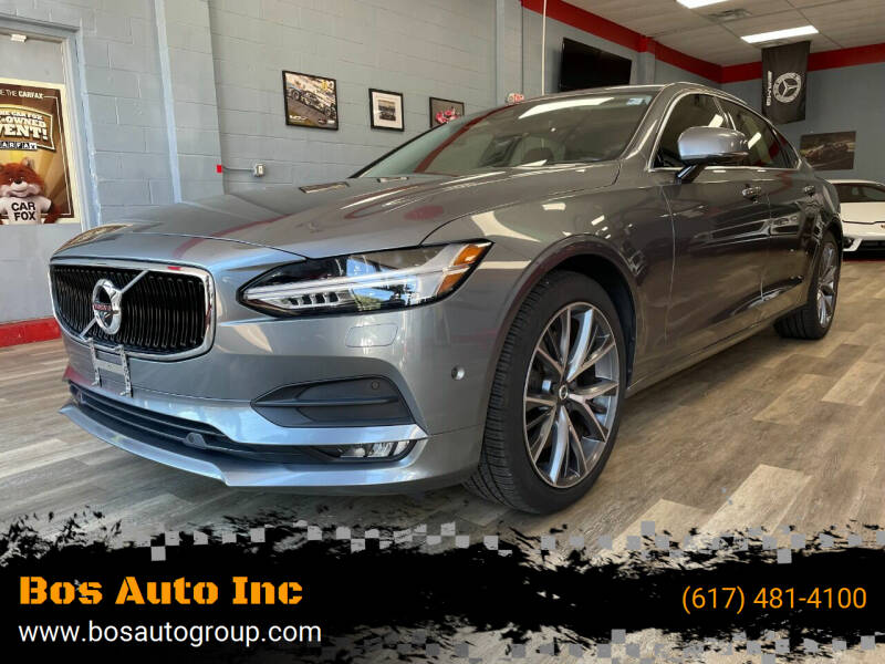 2018 Volvo S90 for sale at Bos Auto Inc in Quincy MA