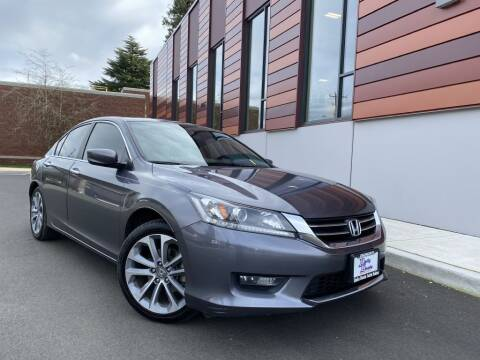 2014 Honda Accord for sale at DAILY DEALS AUTO SALES in Seattle WA