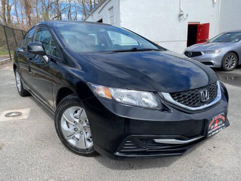 2013 Honda Civic for sale at JerseyMotorsInc.com in Teterboro NJ