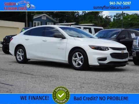 2016 Chevrolet Malibu for sale at Sunny Florida Cars in Bradenton FL