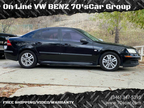 2007 Saab 9-3 for sale at On Line VW BENZ 70'sCar Group in Warehouse CA