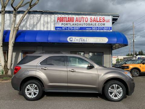 2010 Chevrolet Equinox for sale at PORTLAND AUTO SALES LLC. in Portland OR