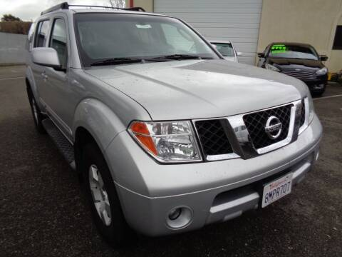2006 Nissan Pathfinder for sale at NorCal Auto Mart in Vacaville CA