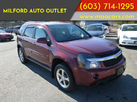 2007 Chevrolet Equinox for sale at Milford Auto Outlet in Milford NH