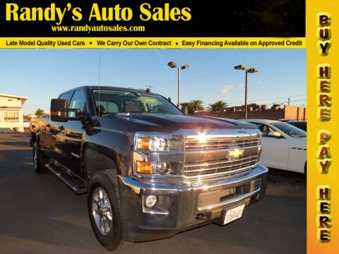 2015 Chevrolet Silverado 2500HD for sale at Randy's Auto Sales in Ontario CA