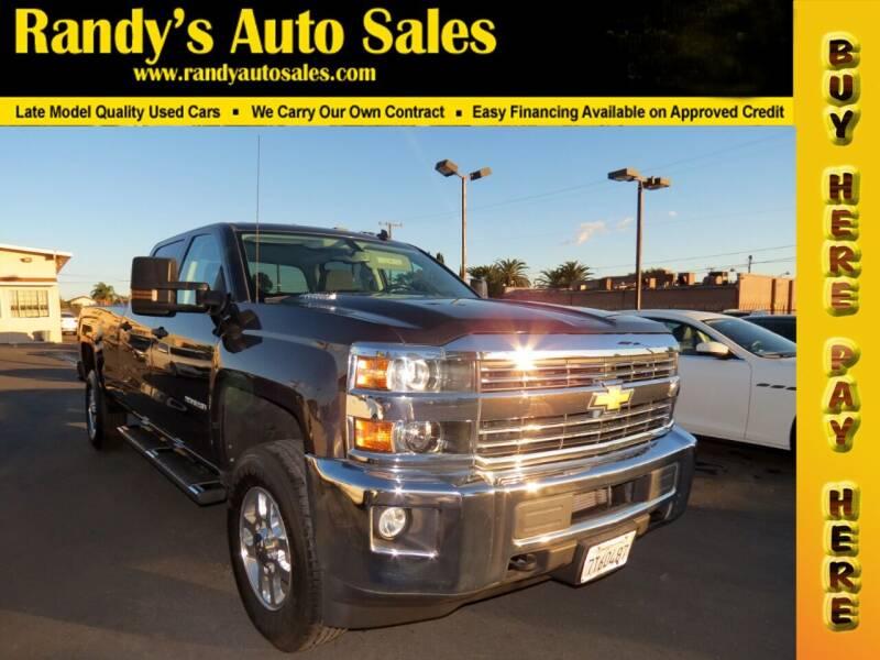 2015 Chevrolet Silverado 2500HD for sale at Randy's Auto Sales in Ontario CA