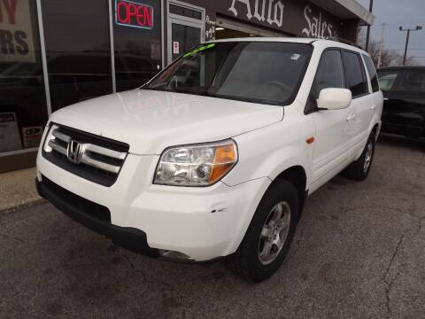 2008 Honda Pilot for sale at Arko Auto Sales in Eastlake OH