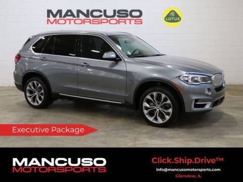 2016 BMW X5 for sale at Mancuso Motorsports in Glenview IL