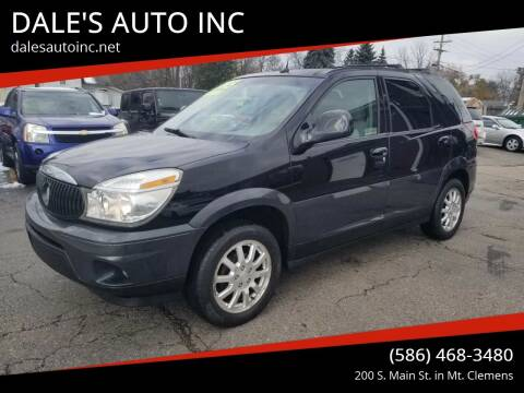 2005 Buick Rendezvous for sale at DALE'S AUTO INC in Mt Clemens MI