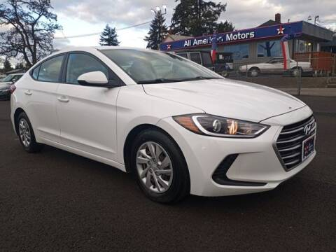 2017 Hyundai Elantra for sale at All American Motors in Tacoma WA