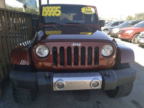 2008 Jeep Wrangler Unlimited for sale at Taylor Trading Co in Beaumont TX