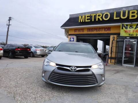 2016 Toyota Camry for sale at N & A Metro Motors in Dallas TX