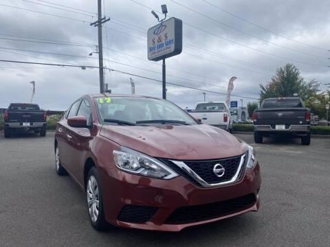 2017 Nissan Sentra for sale at S&S Best Auto Sales LLC in Auburn WA