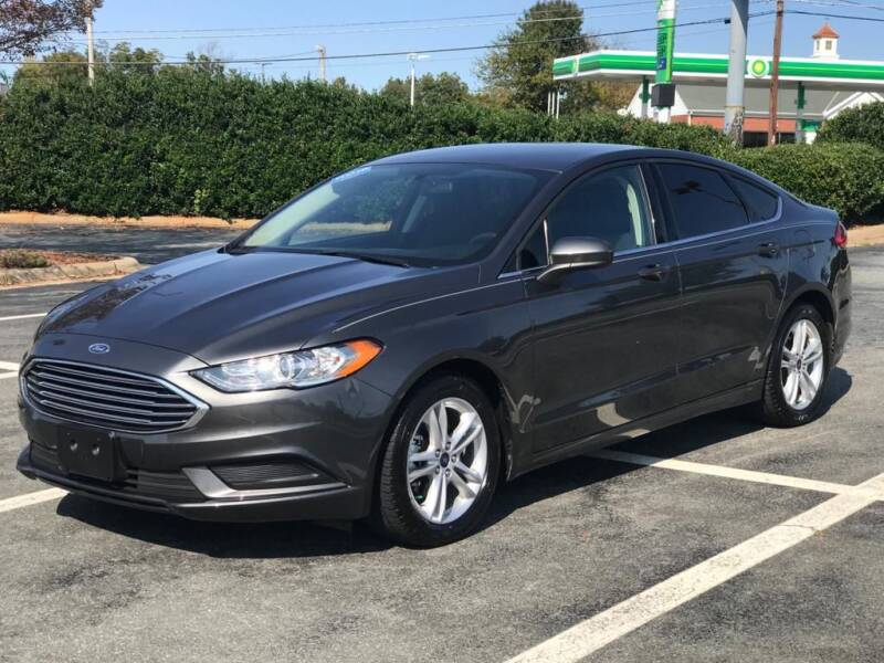 2018 Ford Fusion for sale at RUSH AUTO SALES in Burlington NC