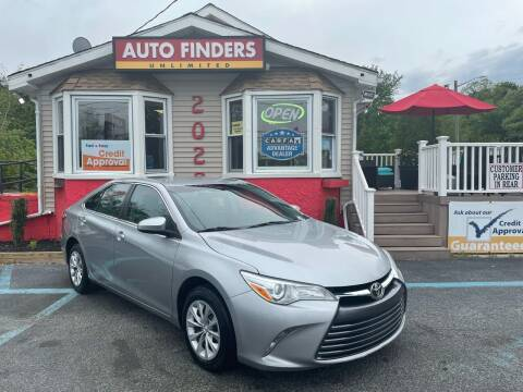 2016 Toyota Camry for sale at Auto Finders Unlimited LLC in Vineland NJ
