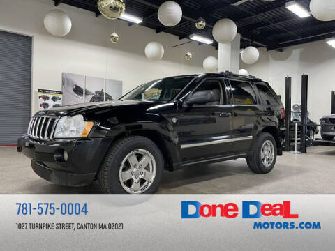 2007 Jeep Grand Cherokee for sale at DONE DEAL MOTORS in Canton MA