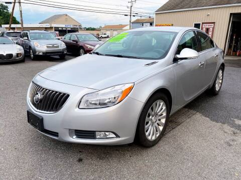 2013 Buick Regal for sale at Dijie Auto Sale and Service Co. in Johnston RI
