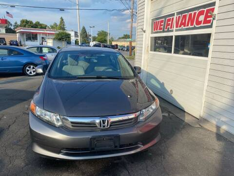 2012 Honda Civic for sale at Better Auto in South Darthmouth MA