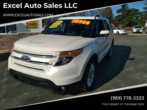 2011 Ford Explorer for sale at Excel Auto Sales LLC in Kawkawlin MI