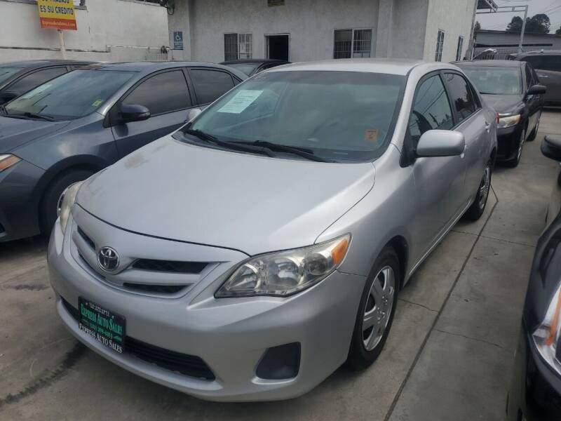 2011 Toyota Corolla for sale at Express Auto Sales in Los Angeles CA