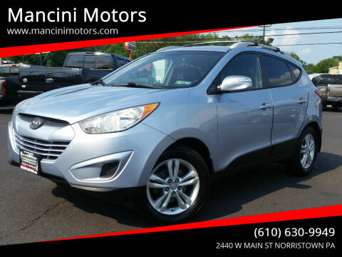 2012 Hyundai Tucson for sale at Mancini Motors in Norristown PA