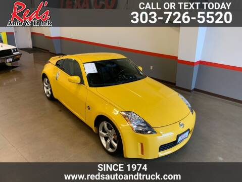 2005 Nissan 350Z for sale at Red's Auto and Truck in Longmont CO
