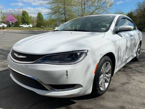 2015 Chrysler 200 for sale at Dreams Auto Group LLC in Sterling VA