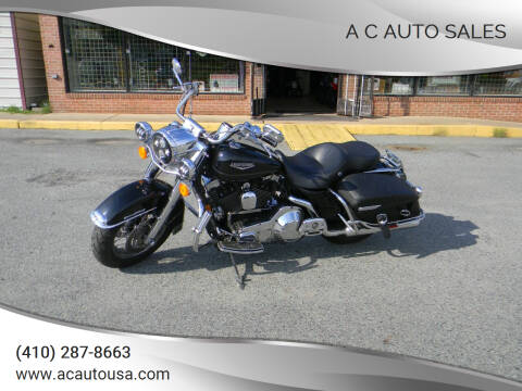 2005 Harley-Davidson Road King for sale at A C Auto Sales in Elkton MD
