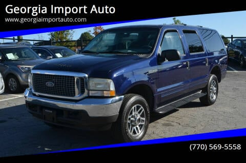 2004 Ford Excursion for sale at Georgia Import Auto in Alpharetta GA