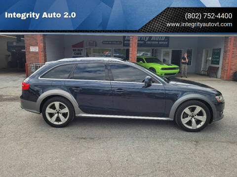 2013 Audi Allroad for sale at Integrity Auto 2.0 in Saint Albans VT