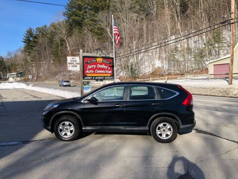2015 Honda CR-V for sale at Jerry Dudley's Auto Connection in Barre VT