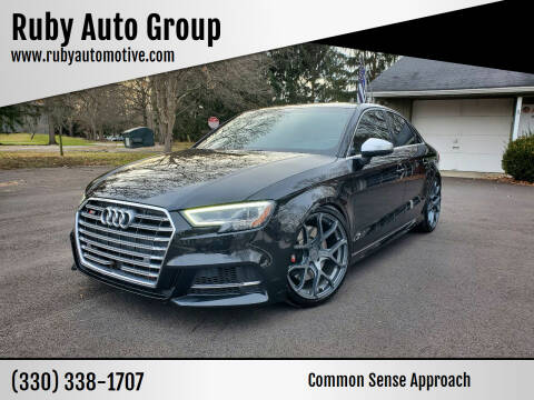 2017 Audi S3 for sale at Ruby Auto Group in Hudson OH