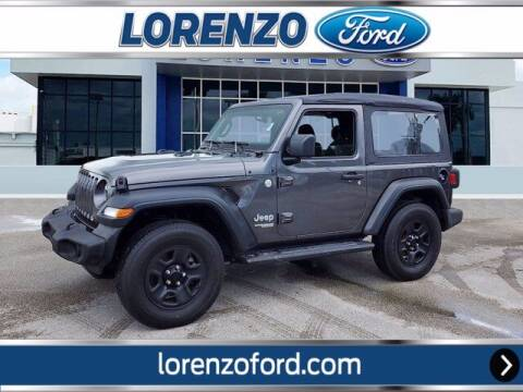 2019 Jeep Wrangler for sale at Lorenzo Ford in Homestead FL