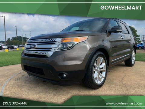 2015 Ford Explorer for sale at GOWHEELMART in Leesville LA